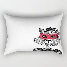 Bandit Brother I by Lauren Mayhew Rectangular Pillow