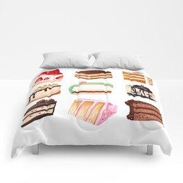 Yummy Cakes Comforters