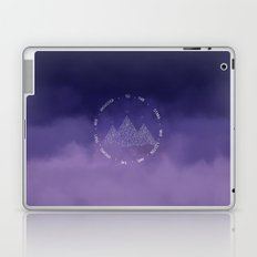 To The Stars Who Listen And The Dreams That Are Answered Laptop & iPad Skin