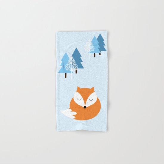 Sweet dreams with fox Hand & Bath Towel