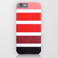 Colorful Red Geometric Pattern iPhone 6s Slim Case