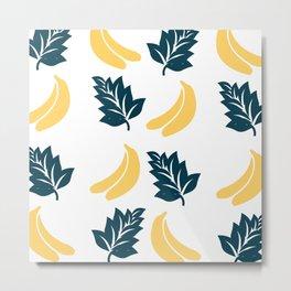 banana leaves Metal Print