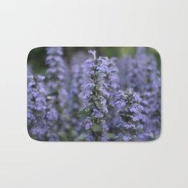Purple Perennials  Bath Mat