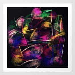 What the Wind Said Art Print