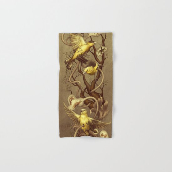 Goldfinch Hand & Bath Towel