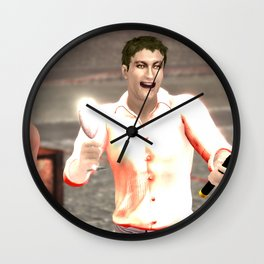 SquaRed: Smile Wall Clock