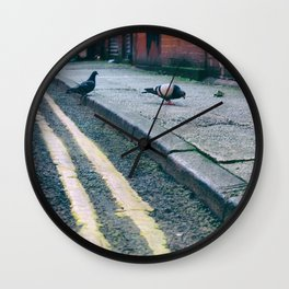 Out on the Town #2 Wall Clock