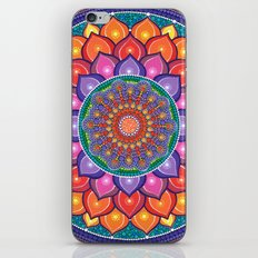 Lotus Rainbow Mandala iPhone & iPod Skin