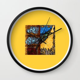 All Tangled Up Wall Clock