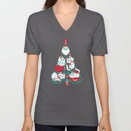 A Very Purry Christmas Unisex V-Neck