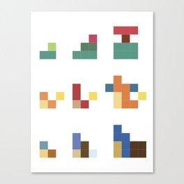 It-E Bit-E PKMN Canvas Print