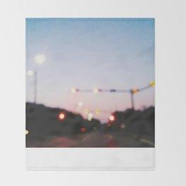 Ambient Streets (NOLA) Throw Blanket