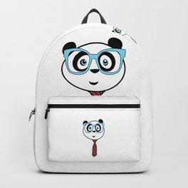 Panda Nerd Backpack