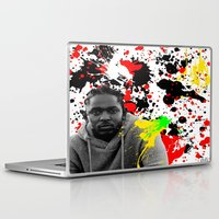 literature Laptop & iPad Skins featuring Literature by Kerosene Bill