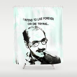 Groucho Lives! Shower Curtain