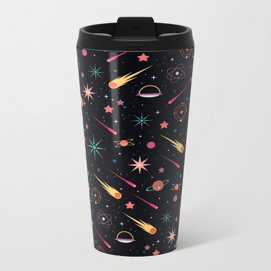 Fly Through Space Metal Travel Mug