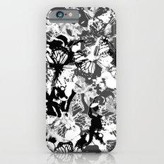 Black butterflies iPhone 6s Slim Case