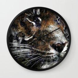 Majestic Tiger Wall Clock