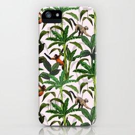 Monkey Jungle iPhone Case