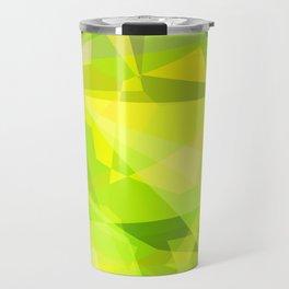 Cactus Garden Abstract Polygons 3 Travel Mug