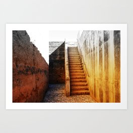 Passageway Art Print