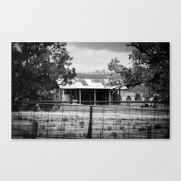 Gunnedah, Australia Outback Shed Canvas Print