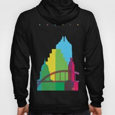 Shapes of Austin. Accurate to scale. Hoody