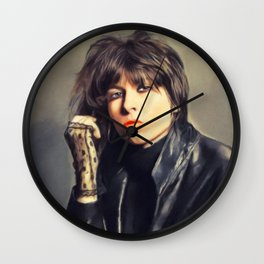 Chrissie Hynde, Music Legend Wall Clock