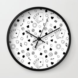 Casino Wall Clock