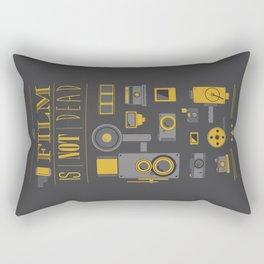 Film is not dead  Rectangular Pillow
