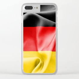 Germany Flag Clear iPhone Case