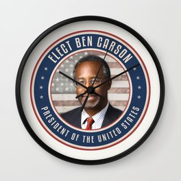 Elect Ben Carson President Wall Clock