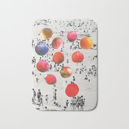 BEACH BALLS Bath Mat