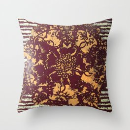 Albie Lace Throw Pillow