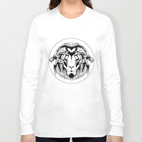 wildlife unleashed Black & white Long Sleeve T-shirt