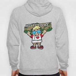 I LOVE HOLLYWOOD Los Angeles LA West Coast Tourist Hoody