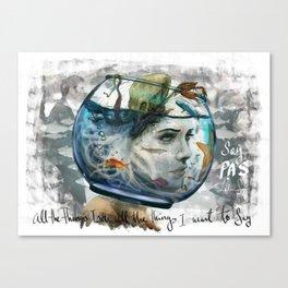 PAS (HSP) Canvas Print