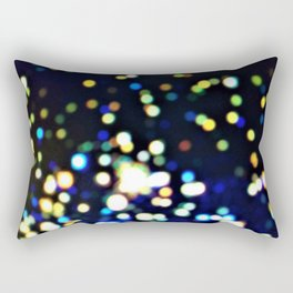 Twinkly starry night texture Rectangular Pillow