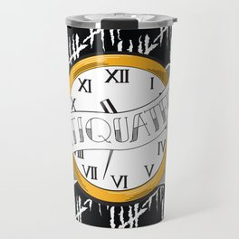 Antiquated Travel Mug