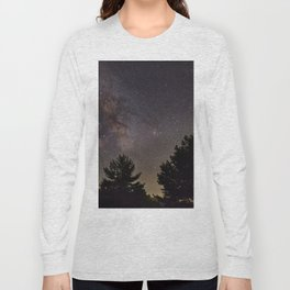Milkyway at the mountains. Saggitarius Antares and Rho Ophiuchus Long Sleeve T-shirt