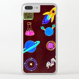 Science II Clear iPhone Case