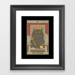 The Emperor Framed Art Print