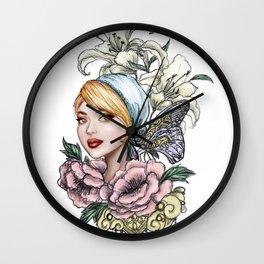 Ephemeral No. 2 Wall Clock