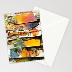 comic strips 4 Stationery Cards