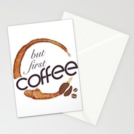 But first coffee - I love Coffee Stationery Cards