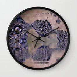 Leviathan Fractal Wall Clock