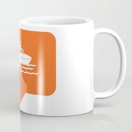 I like boating! Coffee Mug