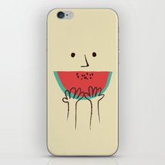 Summer smile iPhone Skin