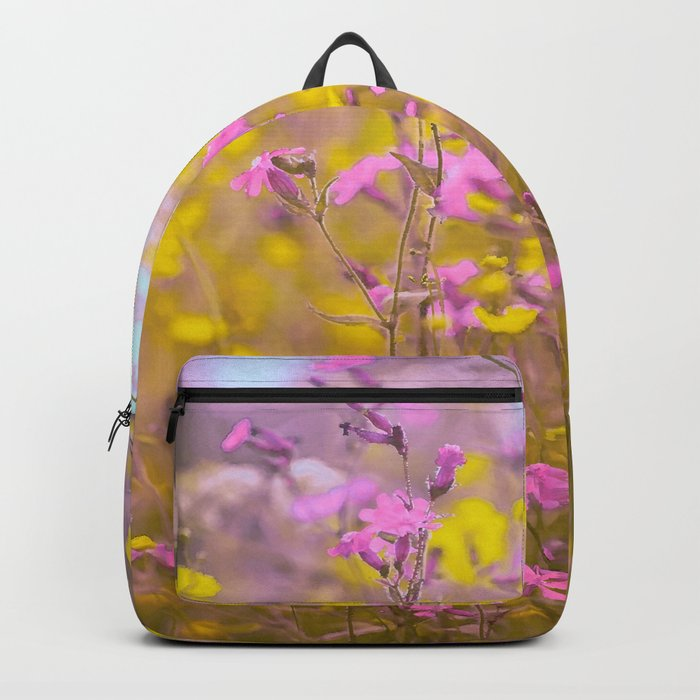 Happy day at meadow Backpack