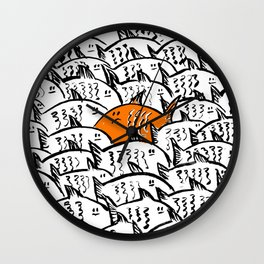 The Monday morning commute can feel a bit Like this! Wall Clock